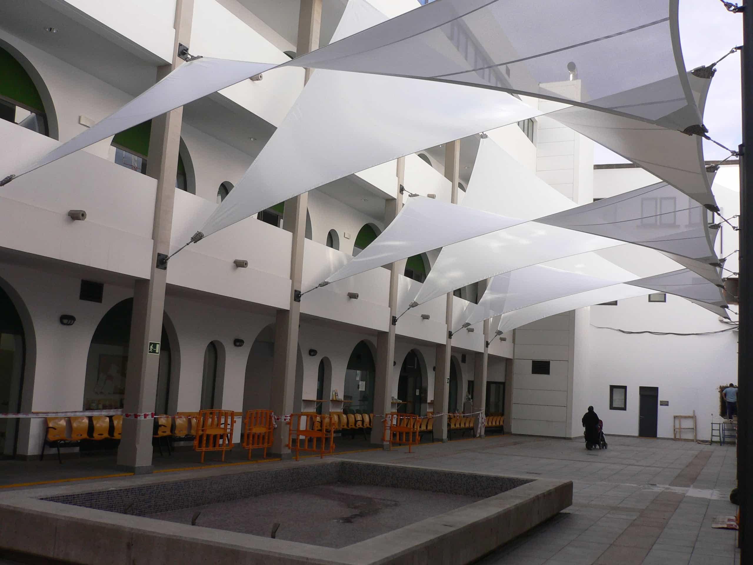 parasoles hostelería
