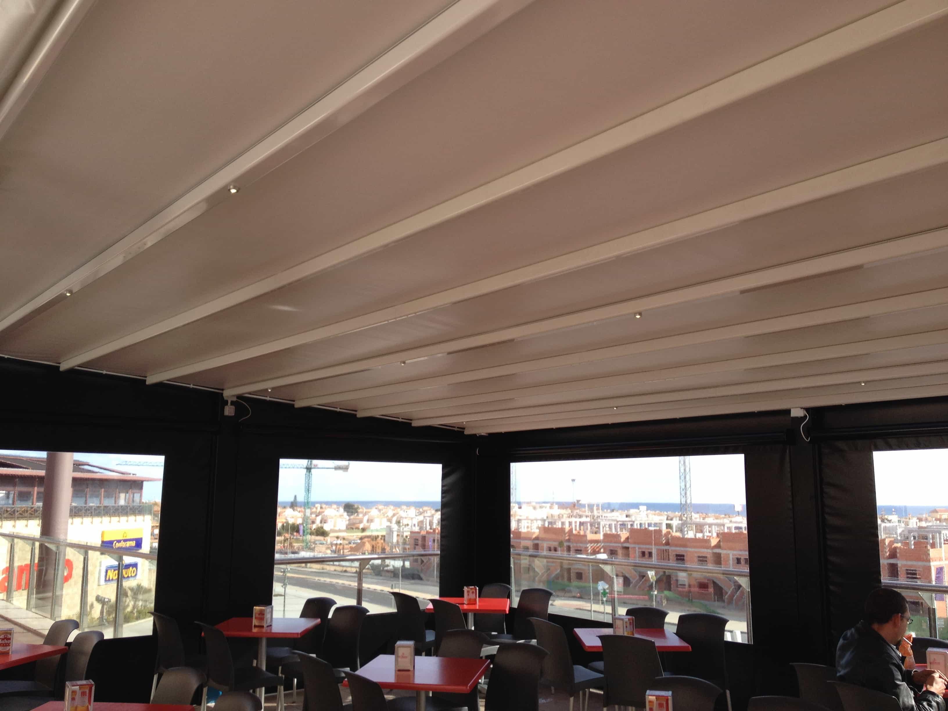 techo hostelería