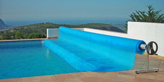 Lonas de piscina dexterior soluciones valladolid - Piscina cubierta alicante ...