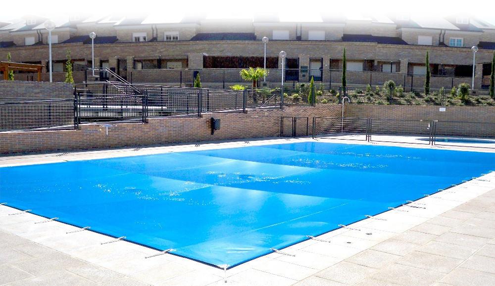 Lonas de piscina dexterior soluciones valladolid for Cubiertas de lona para piscinas