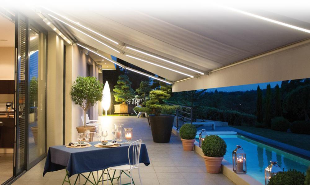Iluminaci n dexterior soluciones valladolid - Iluminacion terraza ...