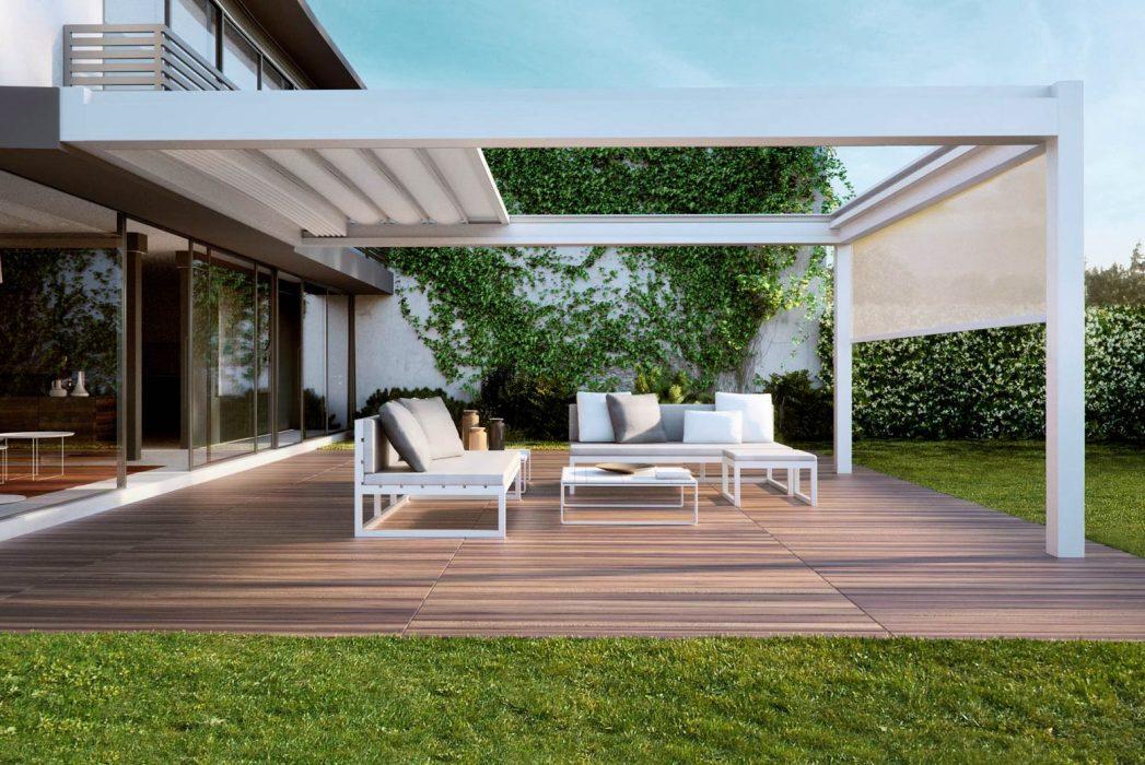 Toldo retr ctil de lona dexterior soluciones valladolid for Arredo terrazza giardino offerte