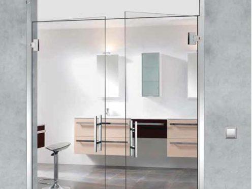 Puertas de cristal dexterior soluciones valladolid for Puertas de paso de cristal