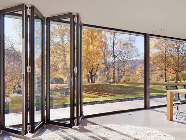 Puertas y ventanas plegables dexterior soluciones - Puertas correderas y plegables ...