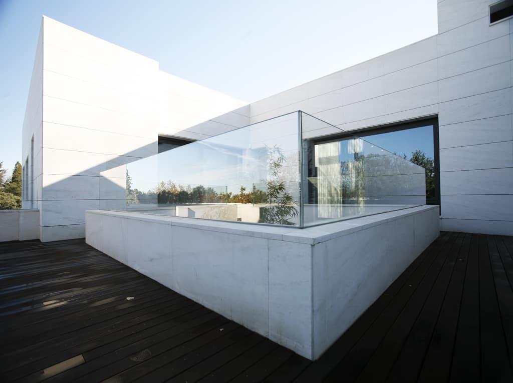 Barandilla dexterior soluciones valladolid for Barandillas de cristal para terrazas