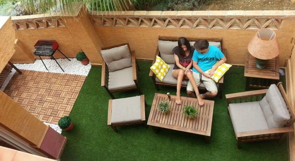 C mo decorar tu terraza con poco presupuesto for Decorar terrazas barato