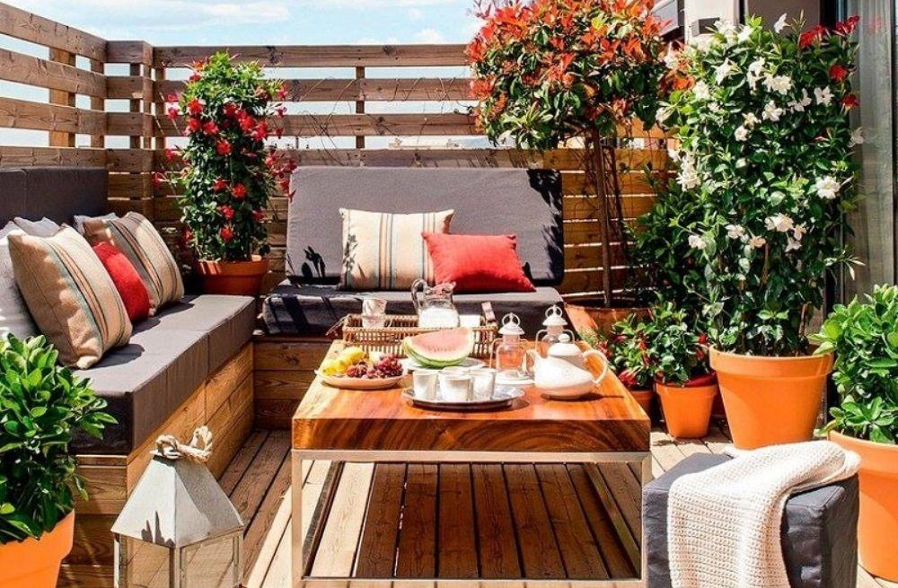 Decora tu terraza con poco presupuesto